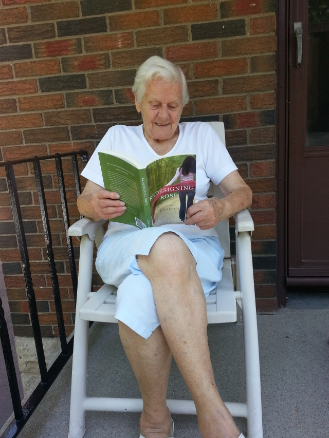 Granny reading RDR