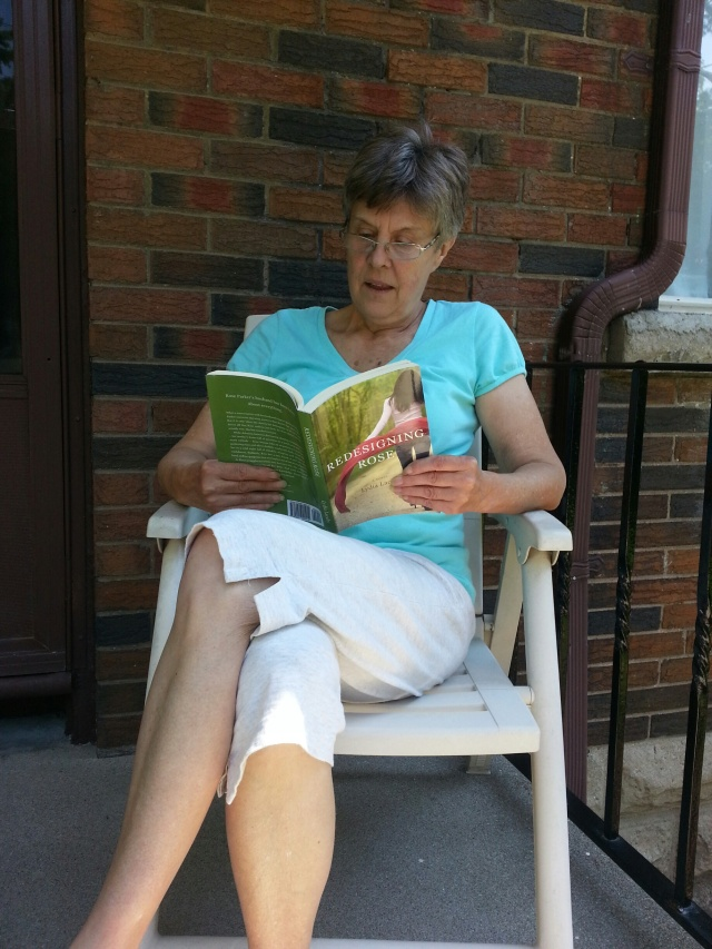Mom reading RDR